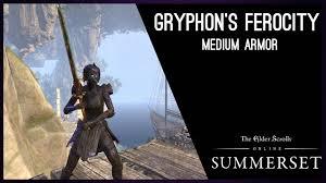 Light All The Heirlooms Eso Gryphons Ferocity Elder Scrolls Online Sets