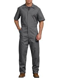Aramark Coverall Size Chart Dickies Mens Short Sleeve Deluxe Poplin Coverall Walmart Com