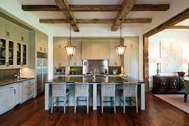 Exposed Wood Beams Ceiling view full size
