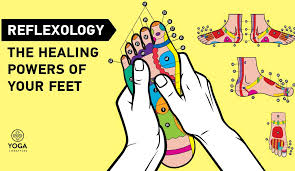 Reflexology Foot Map The Healing Powers Of Your Feet Yoga