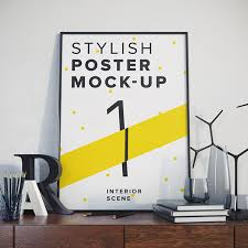 Mockup Poster 30 Poster Mockup Psd Templates To Showcase Your Designs Super Dev