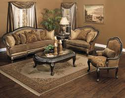 ... Living Room, Cozy Traditional Brown Italian Sofas Set With White And  Brown Formal Living Room ...