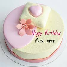 Write Name On Beautiful Birthday Wishes Cake For Mother