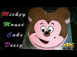 mickey mouse cake design easy