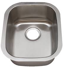 Royalty Prince 18 Gauge Stainless Steel Small Single Bowl Sink