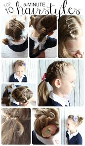 Short Hair Style For Girls best 25 5 minute hairstyles ideas only beach hair 3818 by wearticles.com