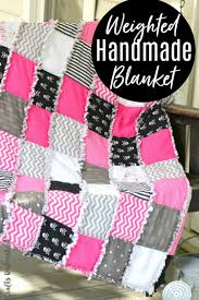 Weighted Blanket Pattern Delectable Weighted Blanket Tutorial Free Pattern Consumer Crafts