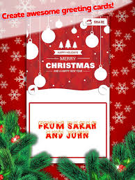 christmas postcard maker christmas greeting card s new year card maker apps 148apps