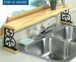countertop corner shelf kitchen