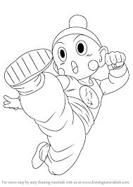 how to draw chiaotzu from dragon ball z