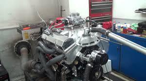 SBC 530HP 383 STROKER ENGINE DYNO RUN FOR BLACK DIAMOND ...