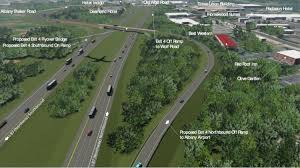 contractors selected for 50 million northway exit 4 ramp to albany airport