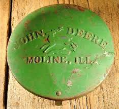 john deere io original john deere vintage farm tractor planter box lid