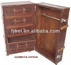 worldmap wardrobe trunk wardrobe steamer trunk leather wardrobe collecting antique trunks