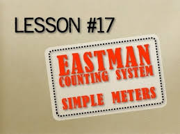 Eastman Counting System Chart How To Read Music Lesson 17 Eastman Counting System Simple Meters