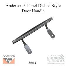 anderson sliding door hardware replacement exterior dished style 3 panel gliding ha