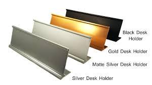 desk name plate holder 1 of 3 office name plate holders for wall mount or desk desk name plate holder