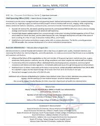 Ceo Resume Samples Gorgeous Executive Resume Samples Professional Resume Samples
