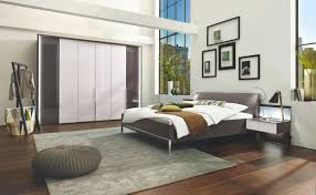 Schlafzimmer Braun Weiß