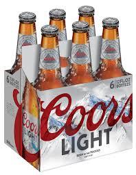 20 Bottles Of Coors Light Coors Light Beer American Light Lager 6 Pack Beer 12 Fl Oz Bottles Walmart Com