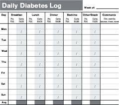 Diet Log Sheet Cholesterol Intake Log Sheet You Can Download And Print Food