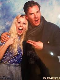 Lucky girl! A double finger shot!   Benedict cumberbatch, Benedict  cumberbatch sherlock, Lucky girl