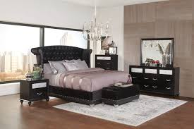 Nice Coaster Barzini Bedroom Collection   Black Velvet