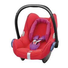 maxi cosi cabriofix car seat red orchid