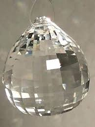 disco ball chandelier 1 of 3 4 lead crystal disco ball prism pendant for disco ball