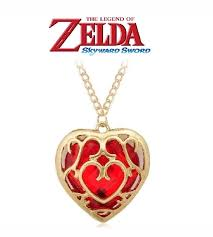 details about legend of zelda link red heart container necklace pendant charm game gift