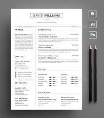 Adobe Resume Template Beautiful Free Resume Cv Templates In Ai