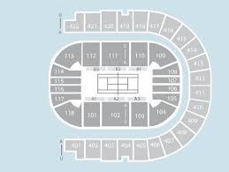 Tennis Seating Plan The O2 Arena