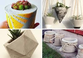 Como fazer o vaso de cimento com toalha? 20 Vasos De Cimento Super Criativos Como Fazer Em Casa