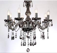 smoked glass chandelier smoke crystal led chandeliers and get free on best smoked glass smoked glass chandelier
