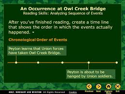 an occurrence at owl creek bridge by ambrose bierce ppt video 8 an occurrence