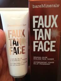 Faux tan face