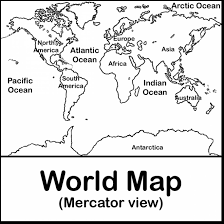 Small Picture excellent north america map coloring page kids with world map