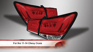 2011-2014 Chevy Cruze LED Tail Lights - YouTube