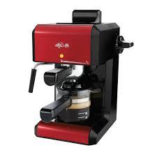 This coffee & espresso combo comes in black. Mr Coffee Bvmc Ecm270r Steam Espresso Maker Red