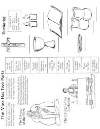 Catholic Mass Parts in Order Worksheet | CFP Activities ...
