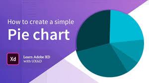 Adobe Chart Maker Adobe Xd Tutorial Simple Pie Chart Design