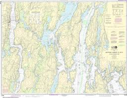 Boothbay Harbor Tide Chart Noaa Nautical Chart 13296 Boothbay Harbor To Bath Including Kennebec River