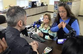 kentucky clerk still won t issue same sex marriage licenses wsj