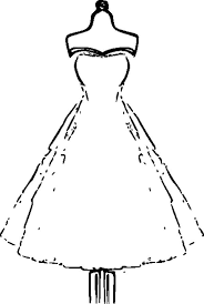 We have collected 40+ wedding dress coloring page printable images of various designs for you to color. Strapless Wedding Dress Coloring Page Coloring Sun