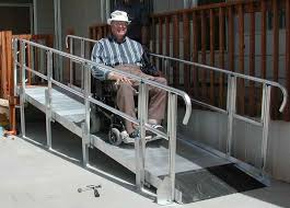 commercial wheelchair ramps for stairs