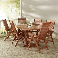 monterry 7 piece indoor outdoor dining set