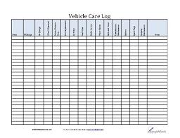 Auto Maintenance Tracking Vehicle Care Log Printable Pdf Form For Car Maintenance Vehicle