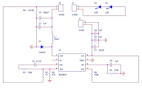 led lighting application power led driver circuit