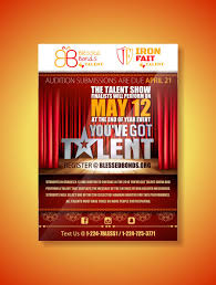 Talent Show Flyer Design Entry 28 By Designciumas For Design A Flyer Talent Show