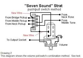late night diy installing a seven way switch on your strat this diagram is a little more confusing and it reverses the five way positions in that this diagram adds the bridge pickup to the fourth and